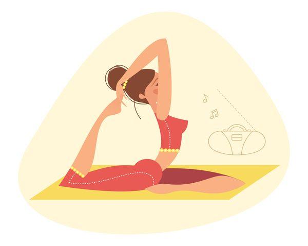Kaliteli Uyku için 8 Dakikalık Basit Yoga Egzersizi